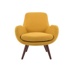 French Seamed Sectional Sofas Oblong Mustard Within Most Up To Date Made Yolk Yellow Armchair (View 10 of 10)