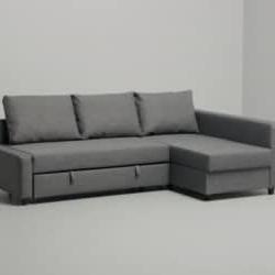 Friheten Sleeper Sectional,3 Seat W/storage, Skiftebo Dark Within Trendy Hartford Storage Sectional Futon Sofas (View 1 of 10)