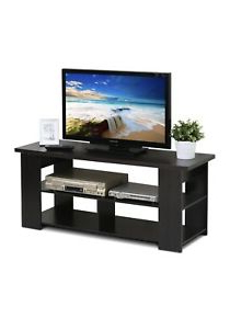 """Furinno 15118 Jaya Tv Stand Up To 50 Inch, Espresso Inside Well Liked Allegra Tv Stands For Tvs Up To 50"""" (View 7 of 10)"""