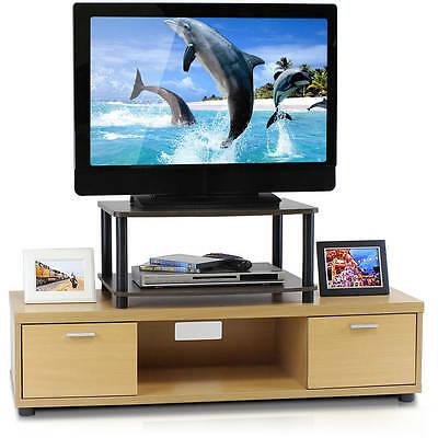 Furinno 2 Tier Elevated Tv Stands With Regard To Famous Furinno Turn N Tube No Tools 2 Tier Elevated Tv Stand (View 10 of 10)