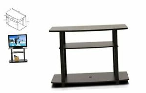 Furinno Turn N Tube No Tool 3 Tier Entertainment Tv Stands Throughout Most Recent Furinno Turn N Tube No Tools 3 Tier Tv Stands, Dark Brown (View 5 of 10)