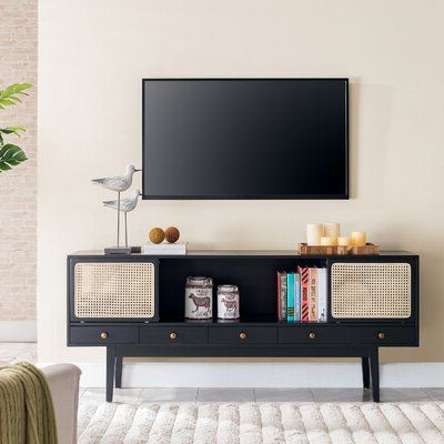 """Grandstaff Tv Stands For Tvs Up To 78"""" Pertaining To Popular Dwight Tv Stand For Tvs Up To 78 Inches (View 5 of 10)"""