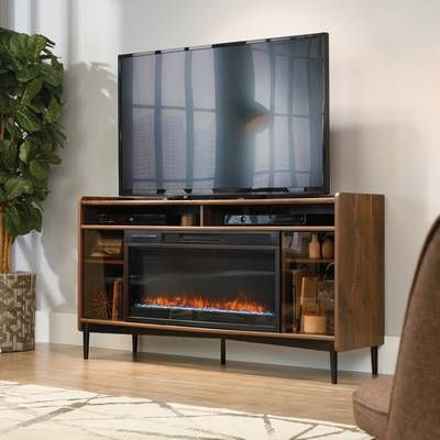 """Gutierrez Tv Stand For Tvs Up To 70"""" With Fireplace With Recent Hetton Tv Stands For Tvs Up To 70"""" With Fireplace Included (View 8 of 10)"""