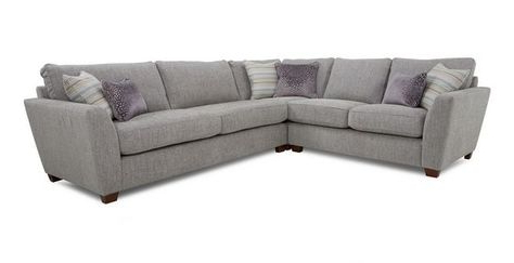 Hadley Small Space Sectional Futon Sofas Pertaining To Widely Used Sophia Right Hand Facing 3 Seater Corner Group Sophia (View 6 of 10)