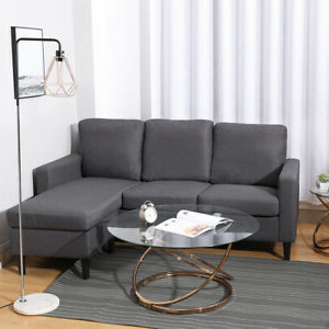 Hannah Right Sectional Sofas For Most Current Sectional Grey 3 Seater Left Right Hand Corner L Shaped (View 6 of 10)