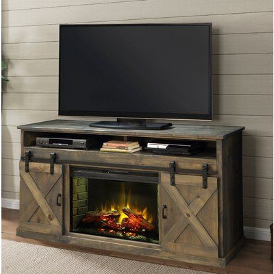 """Hetton Tv Stands For Tvs Up To 70"""" With Fireplace Included With Most Current Loon Peak Pullman Tv Stand For Tvs Up To 70 Inches With (View 10 of 10)"""