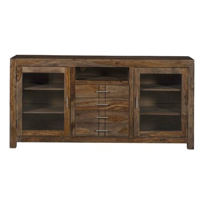 """Hooker Furniture Solid Wood Tv Stand For Tvs Up To 78 Inside Well Known Ansel Tv Stands For Tvs Up To 78"""" (View 9 of 10)"""