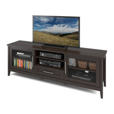 Houzz For Most Recent Winsome Wood Zena Corner Tv & Media Stands In Espresso Finish (View 10 of 10)
