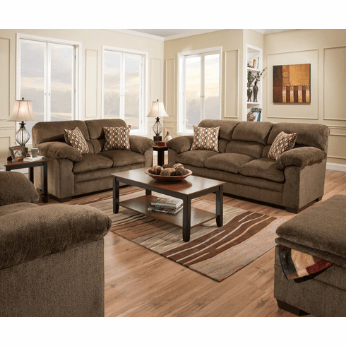 Hugo Chenille Upholstered Storage Sectional Futon Sofas With Regard To Most Recently Released Lane Furniture Harlow Chestnut Sofa (View 4 of 10)
