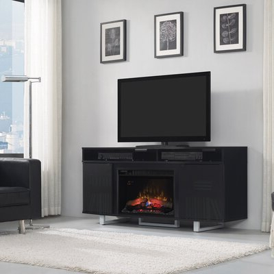 """Ivy Bronx Montemayor Tv Stand For Tvs Up To 70"""" With Intended For Fashionable Hetton Tv Stands For Tvs Up To 70"""" With Fireplace Included (View 3 of 10)"""