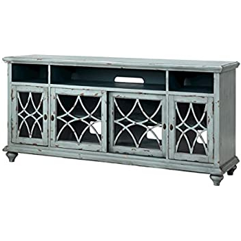 """Jule Tv Stands Intended For Recent Amazon: Stein World 16601 Bethania 72"""" Media Console (View 1 of 10)"""