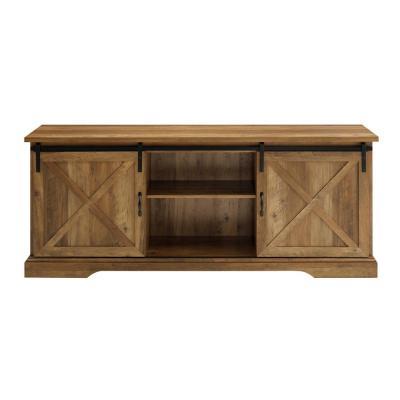 Kado Corner Metal Mesh Doors Tv Stands In Famous Reclaimed Barnwood – Tv Stands – Living Room Furniture (View 1 of 10)