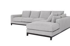 Kellan Sectional Sofa With Left Chaise, Light Grey Pertaining To Favorite 2pc Crowningshield Contemporary Chaise Sofas Light Gray (View 5 of 10)