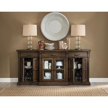 """Lancaster Corner Tv Stands With Well Known Hendricks 75"""" Tv Stand Media Console – Sam's Club (View 3 of 10)"""