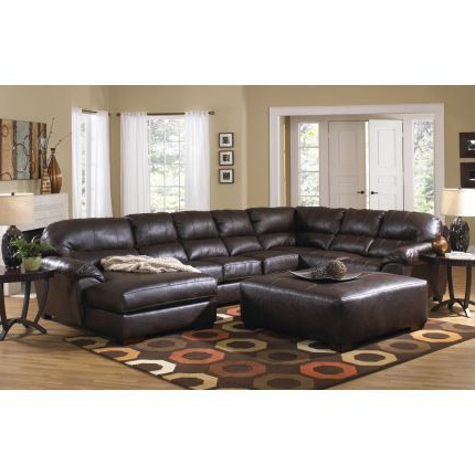 Large Sectional Sofa With Regard To Best And Newest 3pc Faux Leather Sectional Sofas Brown (View 5 of 10)