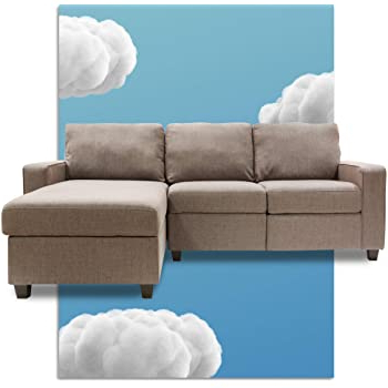 Latest Amazon: Serta Palisades Reclining Sectional With Left Intended For Copenhagen Reclining Sectional Sofas With Left Storage Chaise (View 1 of 10)