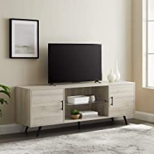 """Latest Basie 2 Door Corner Tv Stands For Tvs Up To 55"""" Inside Amazon: Contemporary Tv Stand (View 9 of 10)"""