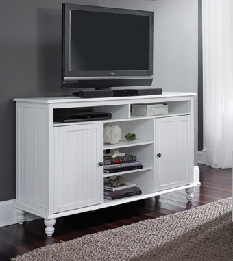 Latest Bromley White Wide Tv Stands Pertaining To Tv 20 60 Inch Wide Cottage Tv Stand (View 2 of 10)