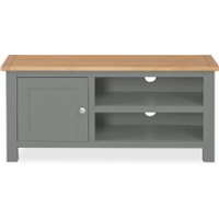Latest Dunelm 5054077927222 Lucy Cane Grey Corner Tv Stand Slate In Bromley Slate Corner Tv Stands (View 4 of 10)