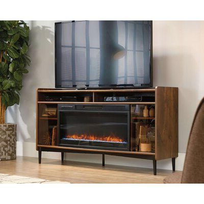 """Latest Lorraine Tv Stands For Tvs Up To 60"""" With Fireplace Included Regarding 17 Stories Bhavesh Tv Stand For Tvs Up To 60"""" With (View 7 of 10)"""