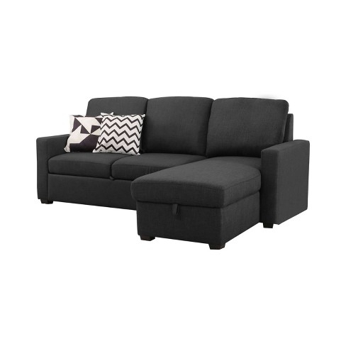 Latest Prato Storage Sectional Futon Sofas Intended For Sofa Bed Sectional With Storage – Lanzhome (View 4 of 10)