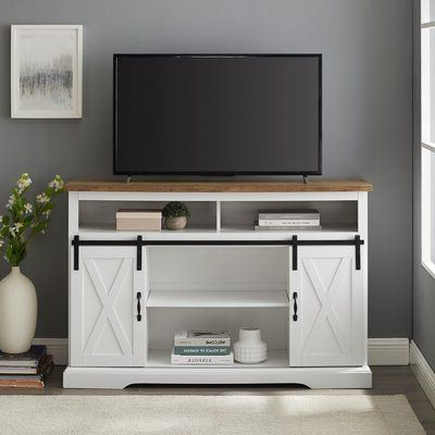 Laurel Foundry Modern Farmhouse Berene Tv Stand For Tvs Up Throughout Latest Kemble For Tvs Up To  (View 5 of 10)