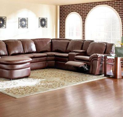 Leather Sectional (View 6 of 10)