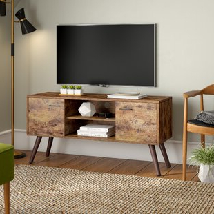 """Lincolnwood Tv Stand For Tvs Up To 43mercury Row With Current Orrville Tv Stands For Tvs Up To 43"""" (View 3 of 10)"""
