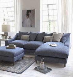 Living Room Sofa, Furniture For Noa Sectional Sofas With Ottoman Gray (View 6 of 10)