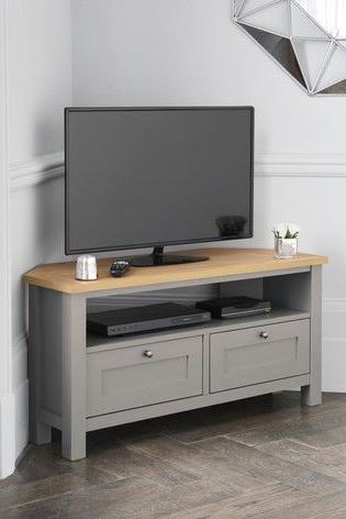 Living Room Tv Pertaining To Samira Corner Tv Unit Stands (View 9 of 10)