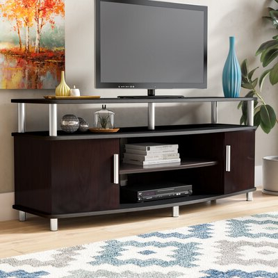 """Logan Tv Stands For Preferred Wade Logan® Cervantes Tv Stand For Tvs Up To 50"""" & Reviews (View 4 of 10)"""