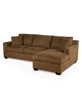Macy's Brown Couch (with Images) (View 4 of 10)