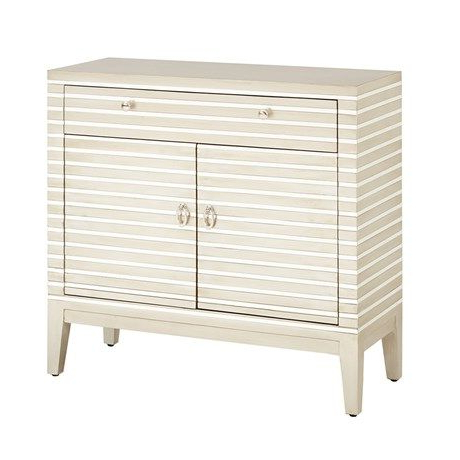 Madison Park Barstow Mirror Stripe Accent Chest (View 8 of 10)