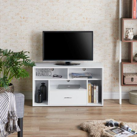 Mainstays 3 Door Tv Stands Console In Multiple Colors For Most Current Furniture Of America Zoe Contemporary Versatile Tv Stand (View 9 of 10)