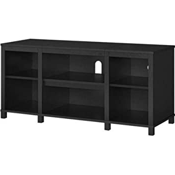 Mainstays Parsons Tv Stands With Multiple Finishes Intended For Popular Amazon: Mainstays Parsons Cubby Tv Stand Holds Up To (View 3 of 10)
