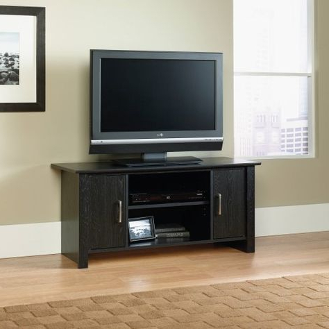 Mainstays Parsons Tv Stands With Multiple Finishes Regarding Famous Mainstays Tv Stand For Flat Screen Tvs Up To 47', Multiple (View 10 of 10)