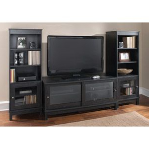 Mainstays Parsons Tv Stands With Multiple Finishes With Best And Newest Mainstays Entertainment Center Bundle For Tvs Up To  (View 9 of 10)