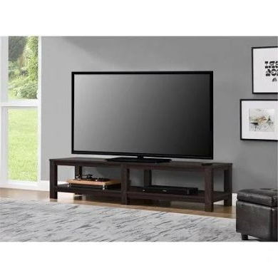 Mainstays Parsons Tv Stands With Multiple Finishes With Regard To Most Popular Mainstays Parsons Tv Stand For Tvs Up To 65 Inch, Multiple (View 1 of 10)