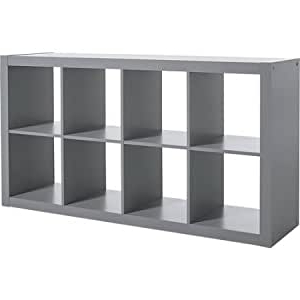 Mainstays Payton View Tv Stands With 2 Bins In 2017 Amazon: A Versatile 8 Cube Organizer Creates Multiple (View 4 of 10)