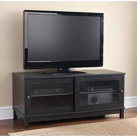 """Mainstays Tv Stand For Tvs Up To 55"""", Multiple Finishes Intended For 2018 Mainstays Parsons Tv Stands With Multiple Finishes (View 7 of 10)"""
