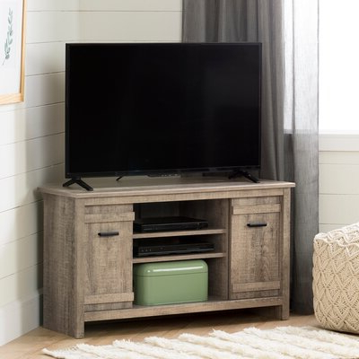 """Maubara Tv Stands For Tvs Up To 43"""" Throughout Well Liked South Shore Exhibit Tv Stand For Tvs Up To 43"""" & Reviews (View 7 of 10)"""