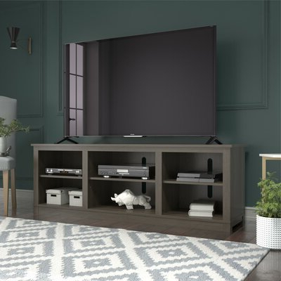 """Miconia Solid Wood Tv Stands For Tvs Up To 70"""" For Well Known 70 Inch And Larger Brown Tv Stands & Entertainment Centers (View 3 of 10)"""