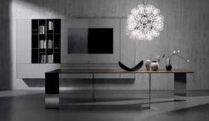 Milan Glass Tv Stands For Preferred Acerbis At Milan International Fair 2014 – Blog (View 9 of 10)