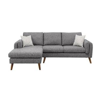 """Millette 111"""" Wide Right Hand Facing Sofa & Chaise Inside Newest 4pc Crowningshield Contemporary Chaise Sectional Sofas (View 8 of 10)"""