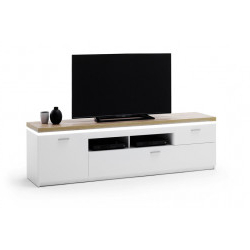 Modern High Gloss Tv Stands Uk  Sena Home Furniture (41 With Newest Canyon Oak Tv Stands (View 8 of 10)