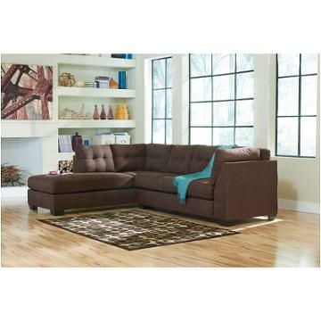 Most Current 2pc Maddox Right Arm Facing Sectional Sofas With Cuddler Brown Pertaining To 4520117 Ashley Furniture Maier – Walnut Raf Corner Chaise (View 10 of 10)
