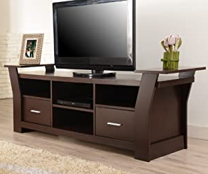 Most Current Amazon: Furniture Of America Torena Multi Storage Tv Pertaining To Scandi 2 Drawer White Tv Media Unit Stands (View 9 of 10)