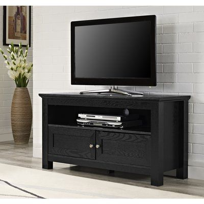 """Most Current Birch Lane™ Heritage Dunmore Wood Cabinet Tv Stand For Tvs With Orrville Tv Stands For Tvs Up To 43"""" (View 1 of 10)"""