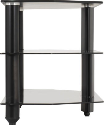 Most Current Bromley Tv Stand – Black Glass/black For Charisma Tv Stands (View 6 of 10)
