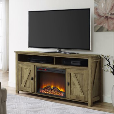 """Most Current Find The Perfect Fireplace Tv Stands & Entertainment Pertaining To Lorraine Tv Stands For Tvs Up To 60"""" With Fireplace Included (View 2 of 10)"""
